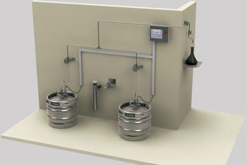 Automação em Laboratórios: Central de Transferência de Líquidos